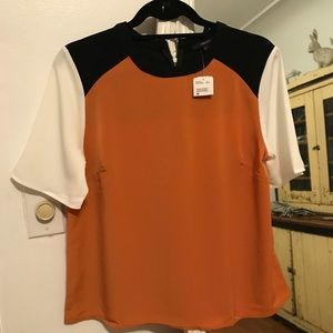 Nwt colorblock blouse